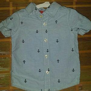 Carter's 6 month button down shirt